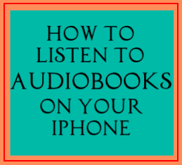 Always have an audiobook with you!
